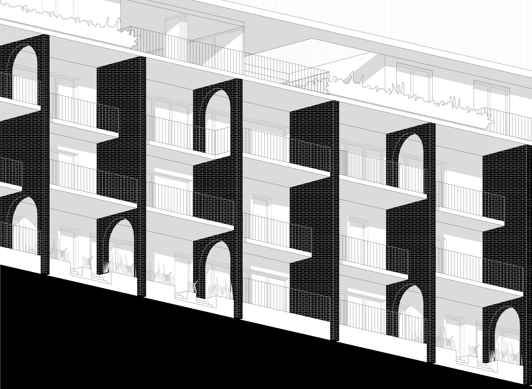 Het idee van BLAF architecten (in samenwerking met ONIX)